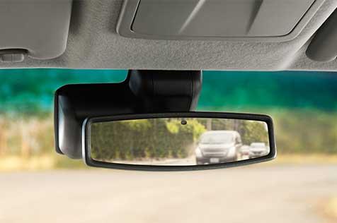 Gương chiếu hậu chống chói tự động trên Chevrolet Colorado