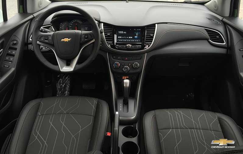Vô lăng Chevrolet Trax thiết kế gọn gàng