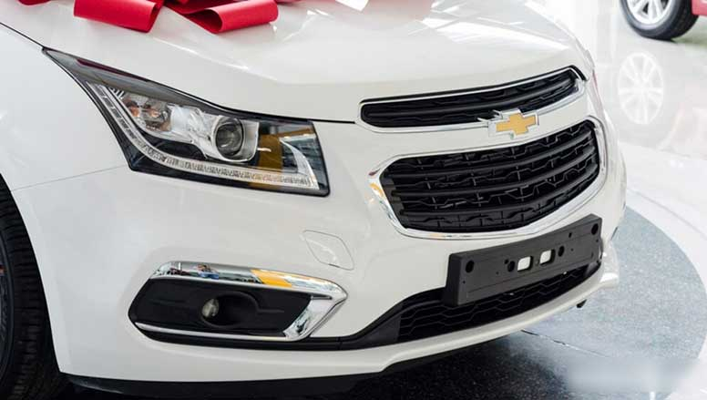Đầu xe Chevrolet Cruze có nhiều cải tiến nâng cấp hơn so với các phiên bản đời cũ