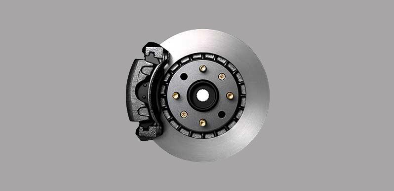 Phanh đĩa trước và phanh tang trống phía sau của dòng Chevrolet Spark Duo