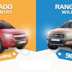 Infographic So Sánh Chevrolet Colorado với Ford Ranger