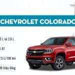 Chevrolet Colorado 2017 Doanh Số Bán Chạy Kỷ Lục Trong Tháng 4