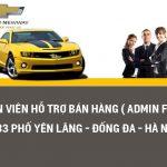 Tuyển Dụng Nhân viên hỗ trợ bán hàng( admin fleet)