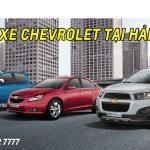 Lái Thử Xe Chevrolet Tại Hải Dương Tháng 5