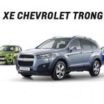 Bảng giá xe Chevrolet Tháng 9 Ưu đãi lên tới 80 triệu