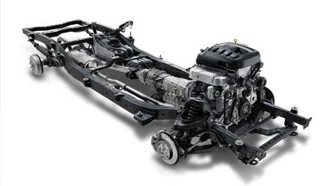 Hệ thống khung gầm mới giúp cho Chevrolet Colorado trở nên an toàn hơn